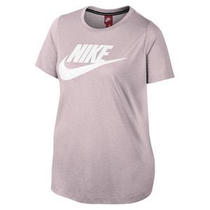 Tee shirt col rond imprimé, manches courtes NIKE