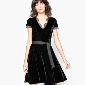 Półdługa poszerzana sukienka skiterka MADEMOISELLE R