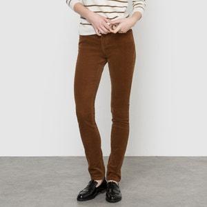Pantaloni in velluto slim R essentiel