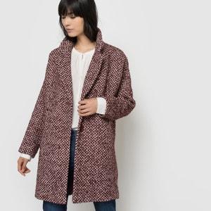Halflange jas in jacquard SEE U SOON