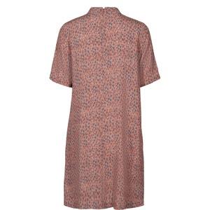 Leopard Print Shirt Dress NUMPH