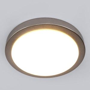Aras - Plafonnier salle de bain LED, nickel mat LAMPENWELT