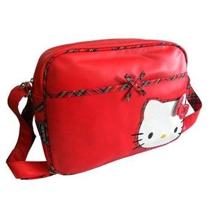 Grande Besace Horizontale Écossaise Hello Kitty ALPAC