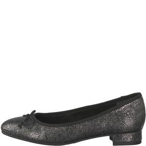 Listea Leather Ballet Pumps TAMARIS