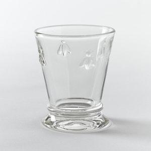 Copo de água em vidro, motivo abelhas, lote de 6 La Redoute Interieurs