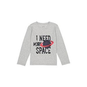 T-shirt sequins reversibles La Redoute Collections