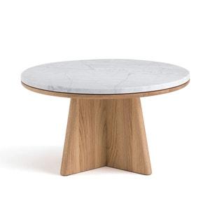 Mesa baja redonda Échos diseño E. Gallina