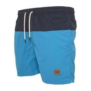 Short de Bain Urban Classics Turquoise Bleu Marine Block Swim URBAN CLASSICS