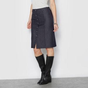 Denim Look Stretch Skirt ANNE WEYBURN