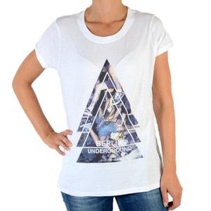 Tee Shirt Berlin W Blanc ELEVEN PARIS