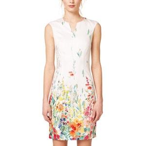 Bedrukte rechte jurk ESPRIT