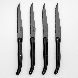 Couteau à viande lame noire Laguiole Jean Dubost ( AM.PM