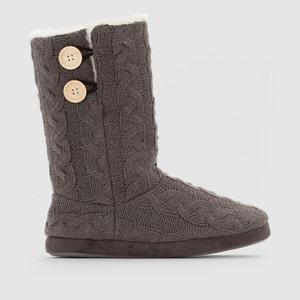 Knitted Slipper Boots LOVE JOSEPHINE