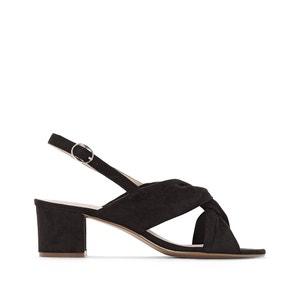 Sandalias con correas cruzadas, del 38 al 45, pie ancho