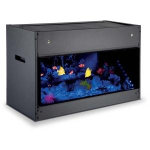 Aquarium encastrable Opti-V imitation poisson et son des bulles DIMPLEX