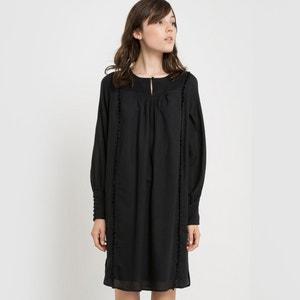 Robe plissée en coton R studio