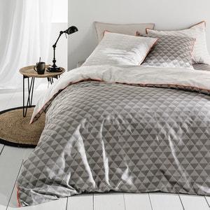 Issor Graphic Print 100% Cotton Duvet Cover La Redoute Interieurs