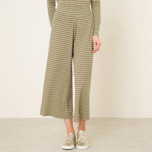 Pantalon large imprimé NIU
