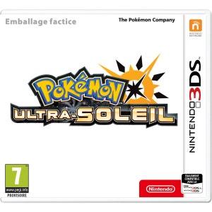 Pokémon Ultra-Soleil 3DS NINTENDO