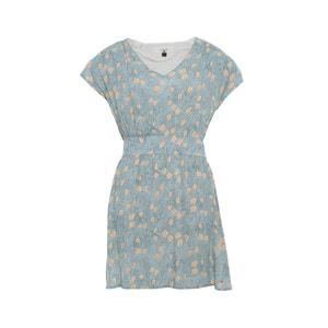 Printed Short-Sleeved Dress PARAMITA