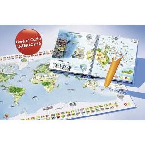 Tiptoi - lecteur interactif + livre Mon premier Atlas et planisphère RAVENSBURGER