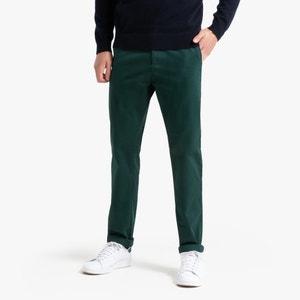 Basic broek, recht chino model, Adrien