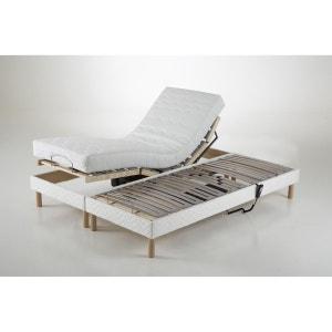 Beklede bedbodem met verstelbaar hoofd- en voeteneinde REVERIE