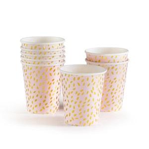 Foelia Decorative Paper Cups (Pack of 8) La Redoute Interieurs