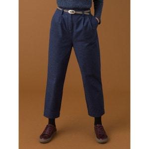Pantalon femme tissu recyclé coupe à plis, ITO SOMEWHERE