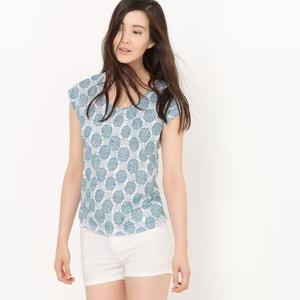 Camiseta con estampado de piña R essentiel