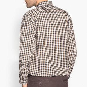 Koszula regular w kratkę 100% bawełna La Redoute Collections