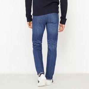 Rechte jeans met used effect R édition