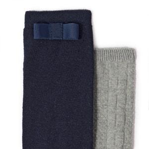Chaussettes montantes fantaisie 3-12 ans (lot de 2) La Redoute Collections