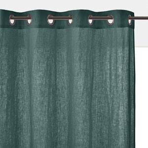 Gordijn in gewassen linnen met oogjes ONEGA La Redoute Interieurs