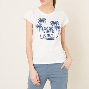 T-shirt met motief HARTFORD