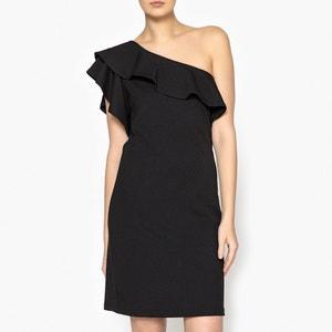 Asymmetric One Shoulder Dress LIUJO
