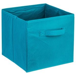 Bac de rangement avec poignée - Bleu lagon ATMOSPHERA
