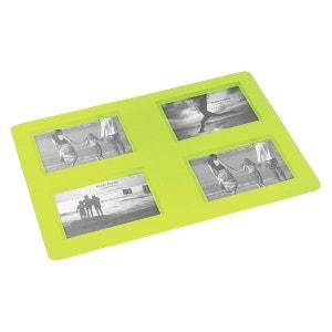 Set de table Cadre photos vert 29 x 42 cm PONT DE LONGUAY