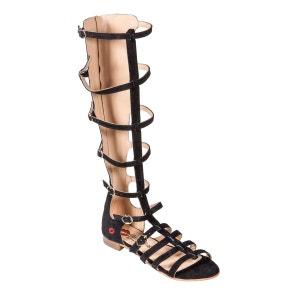 Sandales hautes Tania à lacets BONS BAISERS DE PANAME