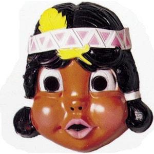 Masque Petit indien : Indienne plume jaune CESAR