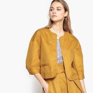 Kurze Jacke mit weiten 3/4-Ärmeln La Redoute Collections