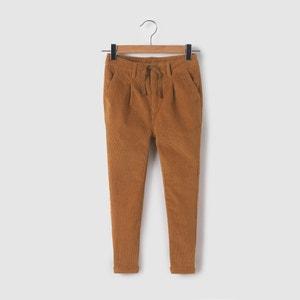 Pantaloni chino in velluto 3-12 anni La Redoute Collections