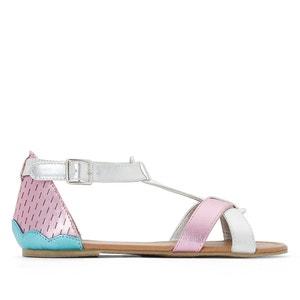 Metallic Sandals La Redoute Collections