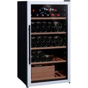 Cave à vin de service - Multi-Températures temp. - 100 bouteilles - Noir - ACI-VSV443 VIN SUR VIN