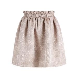 Mini-jupe Forme Trapèze rigide YAS
