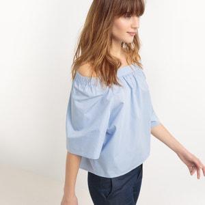 Cotton Off The Shoulder Blouse atelier R