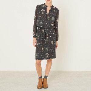 Halflange jurk CHAIN ANTIK BATIK