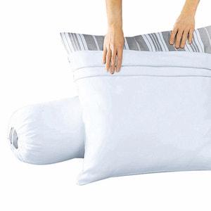 Capa de proteção para travesseiro em moletão puro algodão REVERIE