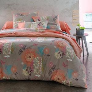 ELARA Printed Cotton Duvet Cover La Redoute Interieurs image