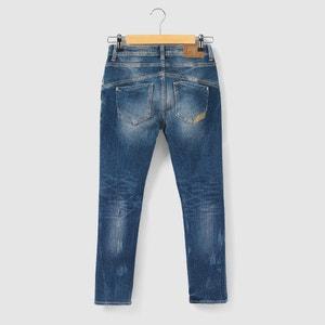 5-Pocket Cotton Jeans, 8 - 16 Years LE TEMPS DES CERISES